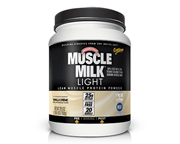 CYTOSPORT MUSCLE MILK LIGHT PROTEINA 1.65LBS VANILLA CREME